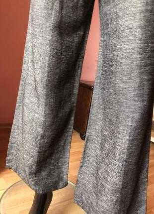 Штаны h&m кюлоты лён с вискозой, размер 44, 466 фото