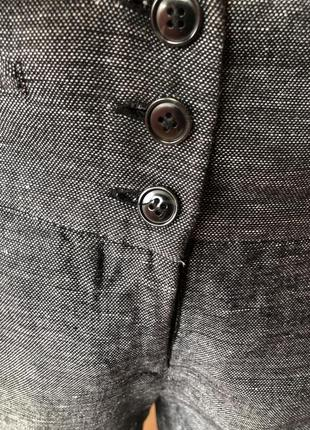 Штаны h&m кюлоты лён с вискозой, размер 44, 468 фото