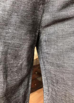 Штаны h&m кюлоты лён с вискозой, размер 44, 469 фото