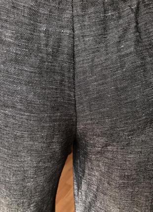 Штаны h&m кюлоты лён с вискозой, размер 44, 4610 фото