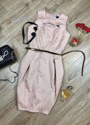 Шикарное,нарядное дизайнерское платье с вышивкой и красивым вырезом на груди 😋