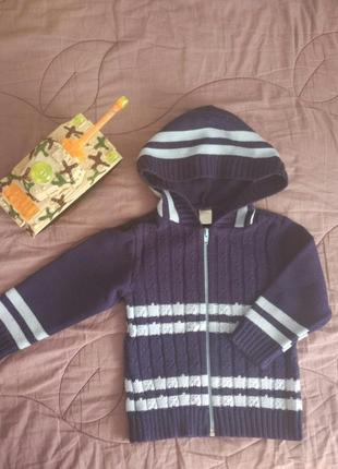 Тёплый свитерок на мальчика