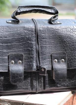 Шикарная мужская сумка трансформер германия