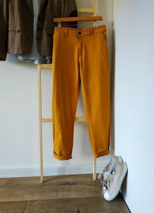 Котоновые брюки повседневные большой размер