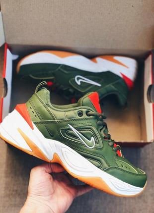 Мужские кроссовки оливка