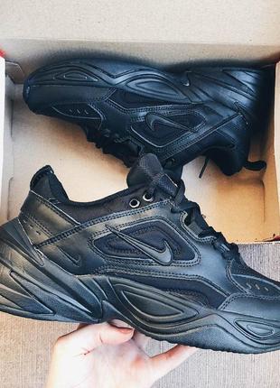 Мужские кроссовки  черные