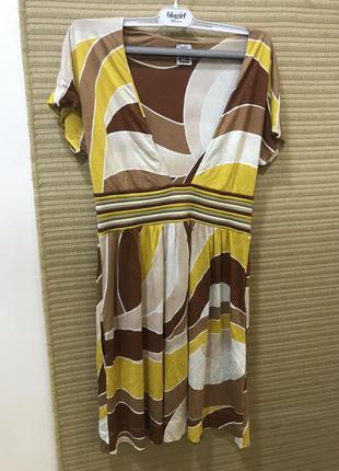 Трикотажное платье missoni -90%