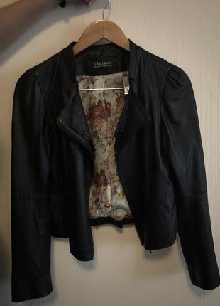 Кожаная куртка 's max mara