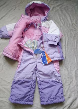 Новый комплект на осень для девочки u-two куртка с бирками