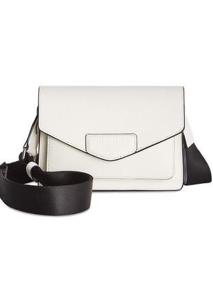 Белая сумка dkny