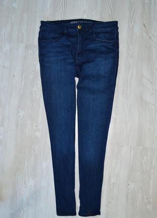 Супер-стрейчевые джинсы американского бренда american eagle