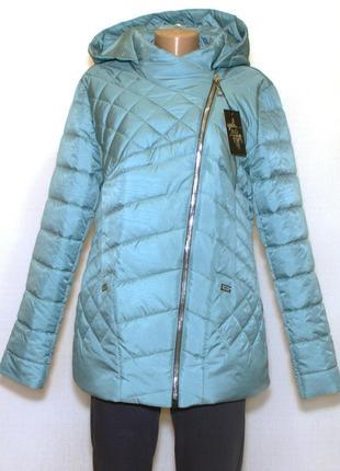 Демисезонная курточка с капюшоном (50-56)