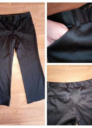 Стильные брюки плотный атлас -стрейч