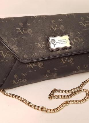 Versace 19.69! роскошная сумочка crossbody ручка цепочка принт logo