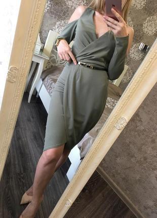 Шикарное элегантное платье