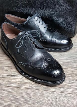 Туфли дерби броги bally