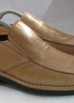 - фирменные кожаные туфли - buffalo- 40 - испания -
