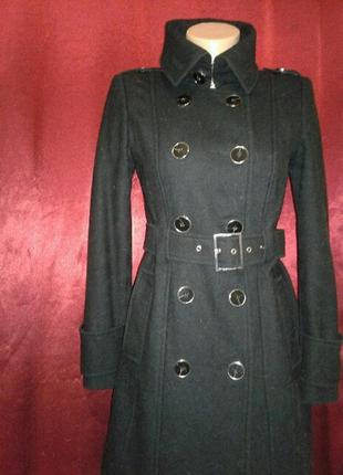 Стильное пальто шерсть