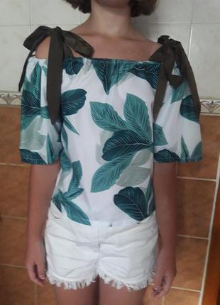 Блузка на 10-11 лет