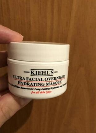 Ночная увлажняющая регенерирующая маска для лица kiehls2 фото