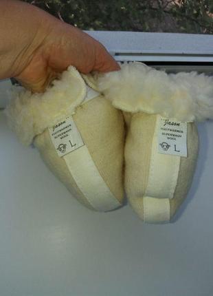 Меховые тапочки носки jason