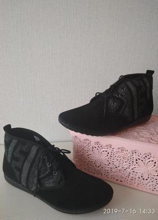 Нежные замшевые ботинки inblu
