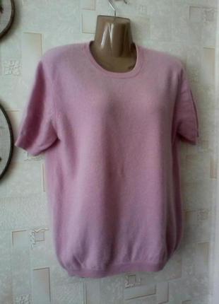 Кашемировый  свитер джемпер, кашемир от louisa de capi, разм. 48-50