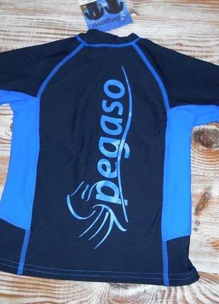 Детская футболка  pegaso для водных видов спорта,с защитой от уф 50+