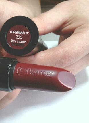 Помада для губ supermatte lipstick, 4,2 г
