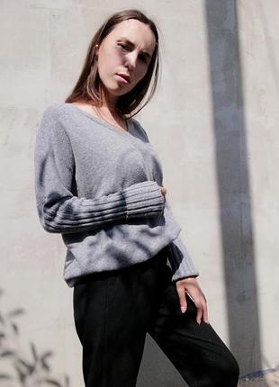 Шерстяной свитер кофта пуловер оверсайз dorothy perkins