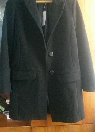 Кашемировое пальто (новое) 46р.