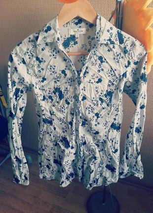 Рубашка с принтом tom tailor