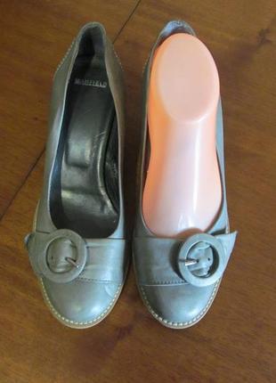 Туфли женские manfield кожа 38р.