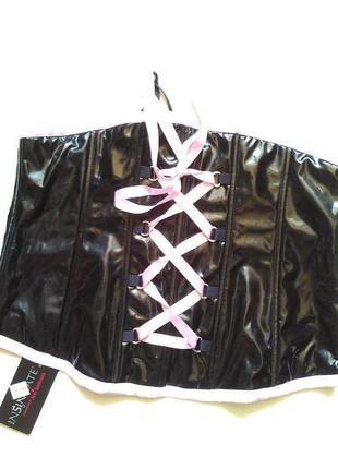 14-16 новый сексуальный латексный корсет под кожу на талию