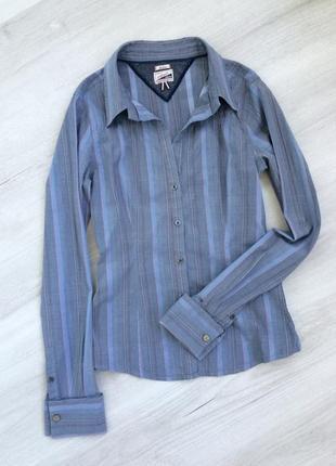 Рубашка блуза блузка с запонками tommy hilfiger