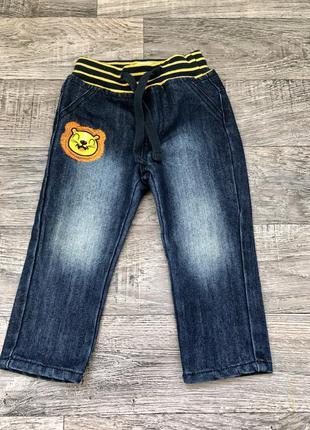 Джинсовые брюки штаны штанишки для малыша