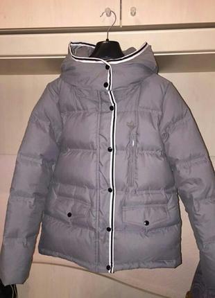 Пуховик, зимняя куртка adidas р. м-xl