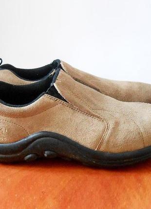 Замшевые спортивные туфли/мокасины/кроссовки от бренда cotton traders, р.39 код k3902