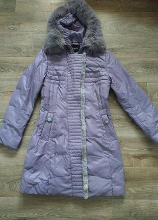 Пуховик женский зимнее пальто