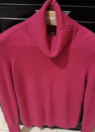 Кашемировый гольф свитер uniqlo