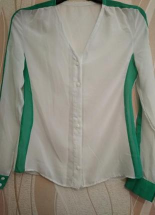 Шифонновая блузка