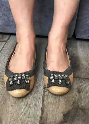 Made in italy супер стильные мокасины туфельки пинетки bcbg max azria