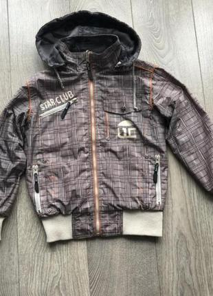 Брендовая двухсторонняя курточка