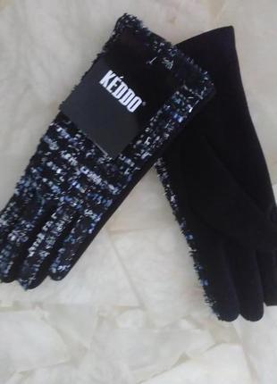 Перчатки текстиль нарядные