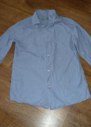 Рубашка зара zara на 9-10 лет
