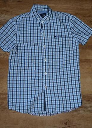 Next рубашка некст на 10 лет рост 140 см, 100% коттон, индия2 фото