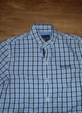 Next рубашка некст на 10 лет рост 140 см, 100% коттон, индия3 фото