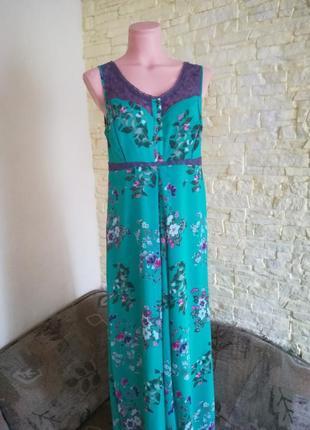Платье размер 14  m&s indigo collection