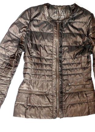 Демисезонная куртка пуховик etage р.10  (рук.64, ог 94,дл.60)
