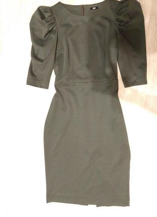 Платье с фонариками jet, цвет олива, 38/м